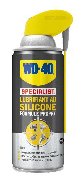 Lubrifiant WD40 silicone système pro 0,4L