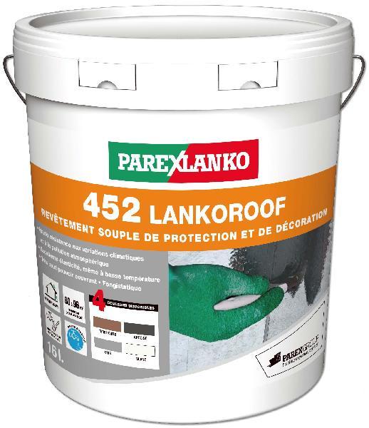 Peinture imperméabilisante LANKOROOF 452 terre cuite seau 16L