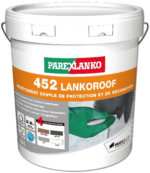 Peinture imperméabilisante LANKOROOF 452 gris seau 16L