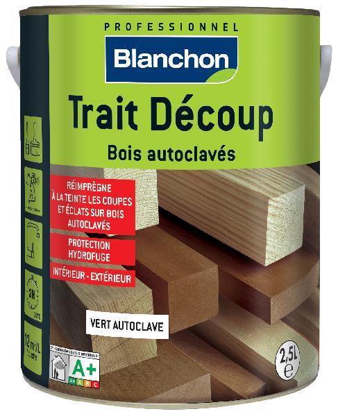 Traitement bois autoclave extérieur TRAIT DECOUP brun bidon 2.5L