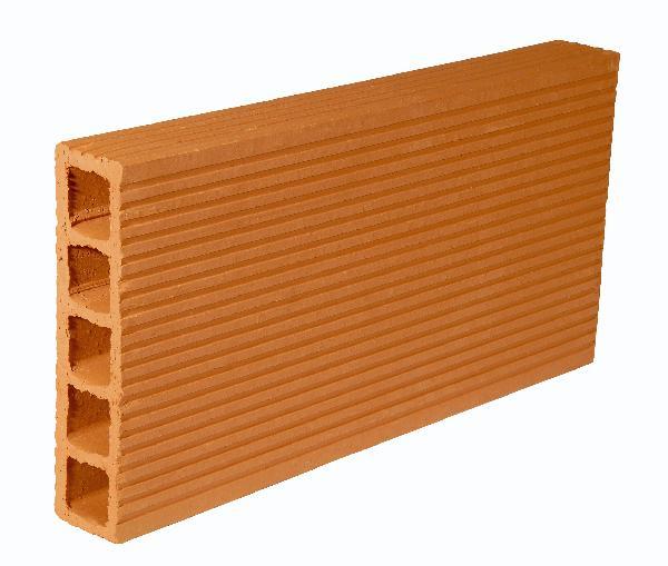 Brique cloison traditionnelle 3,5x25x40cm 1 alvéoletrous