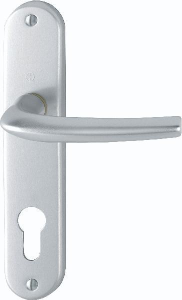 Poignée de porte SAN DIEGO 1191/347 aspect argent clé I