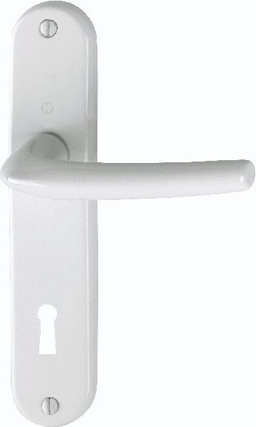 Poignée de porte SAN DIEGO 1191/347 aspect blanc clé L