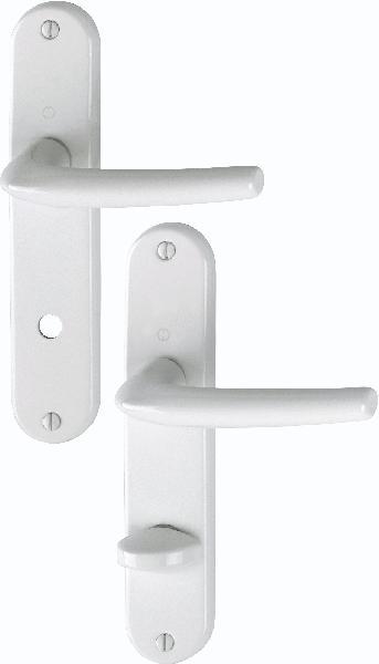 Poignée de porte SAN DIEGO 1191/347 aspect blanc condamnation