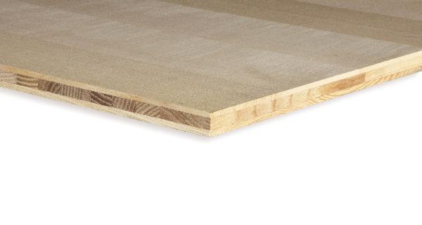 Panneau 3 plis frêne choix A/B 20x2500x1250mm