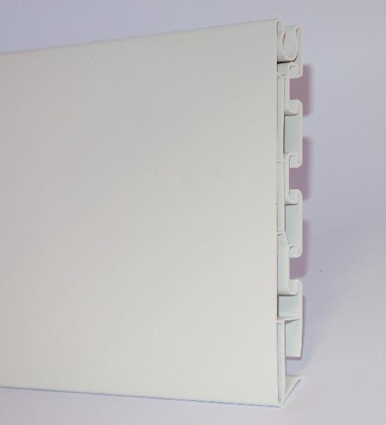 RIVE BANDEAU PVC STANDARD HT18 BLANC LONGUEUR 4M00