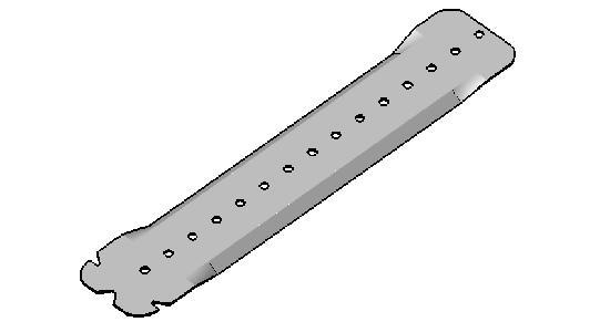 Suspente P24 240mm boite 50