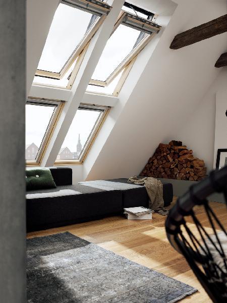 Fenetre de toit GGL INTEGRA 305721 tout confort CK04 55x98cm