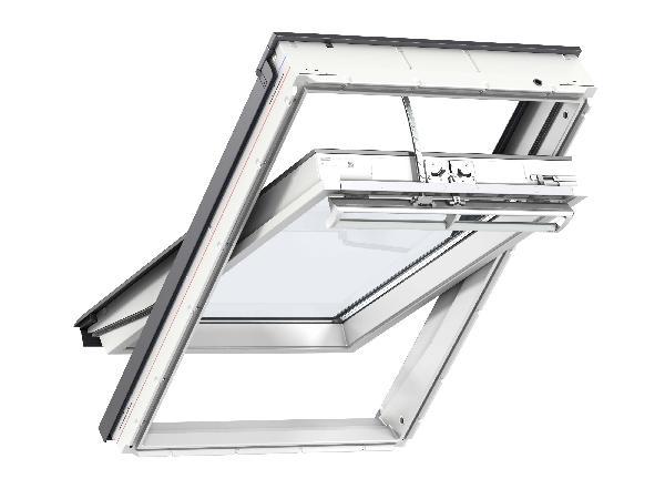 fenetre de toit ggu integra 007621 confort sk08 114x140cm. Black Bedroom Furniture Sets. Home Design Ideas