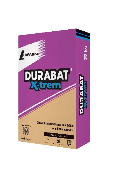 Ciment DURABAT X-TREM gris CEM II/A-S PM CP2 52,5 N CE+NF sac 35kg