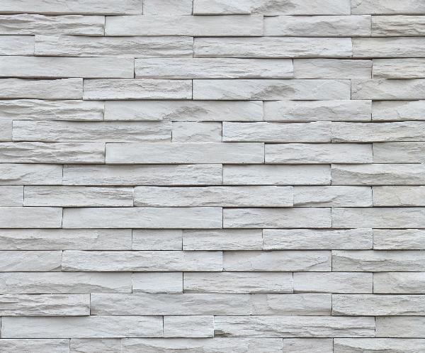 Plaquette parement MUROK STRATO M81 blanc crème formats irréguliers
