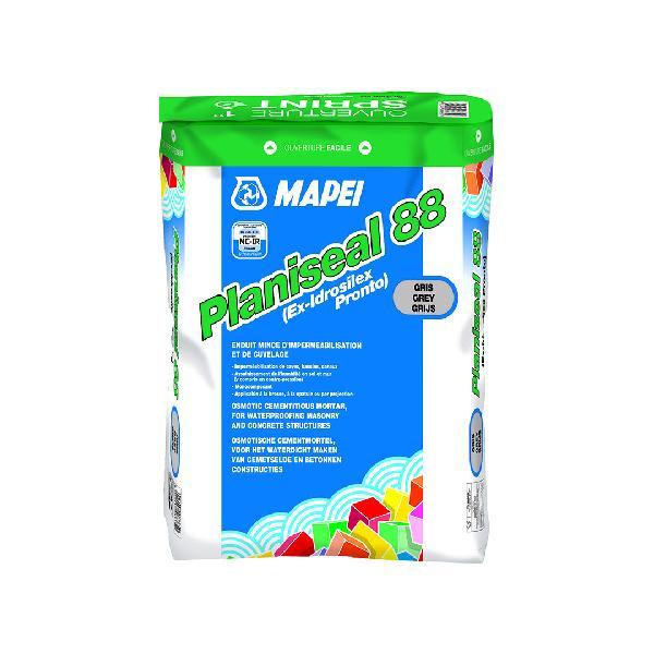 Enduit imperméabilisation PLANISEAL 88 gris sac 25kg
