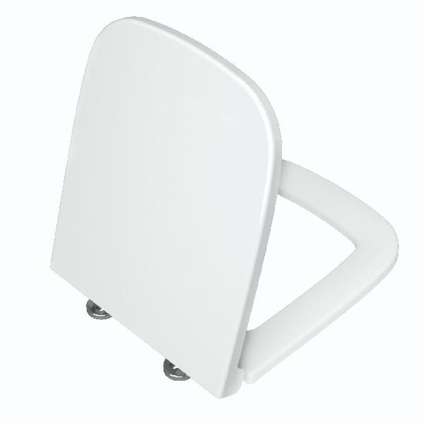 Abattant WC duroplast S20 blanc avec système frein de chute