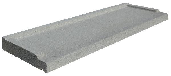 Seuil de porte gris tableau :120x33,5cm