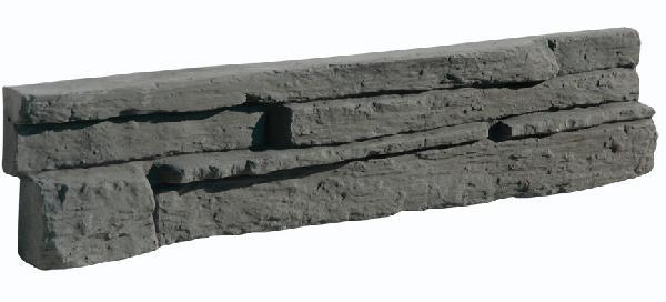 PLAQUETTE PAREMENT MUROK MONTANA M35 GRIS FORMATS IRREGULIERS