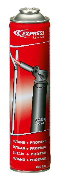 CARTOUCHE DE GAZ BUTANE + PROPANE 340G 600ML