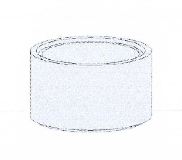 Réhausse béton pour regard Ø1000 H.90cm avec échelons