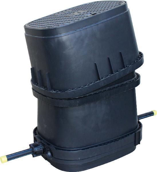 Regard modulaire 25 pe monte dn15 tampon fonte b125 - Regard compteur d eau ...