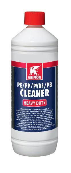Dégraissant CLEANER pour tuyau PE bidon 1 L