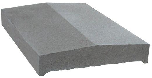 Couvertine CMW 2/28 50x28cm gris