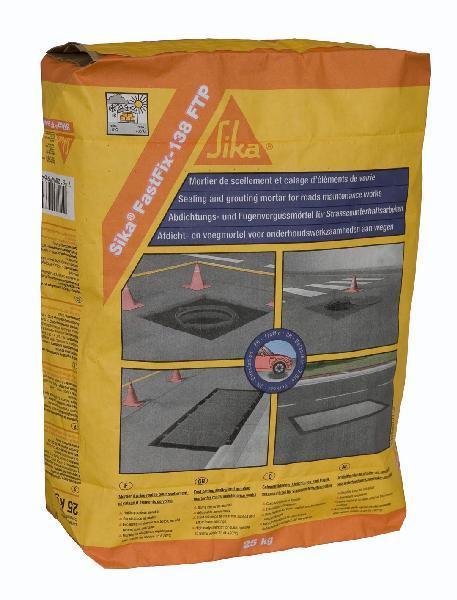 Micro béton de scellement-calage SIKAFASTFIX 138 FTP EXPRESS sac 25kg