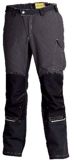 Pantalon genouillères OUTFORCE 2R noir T.S