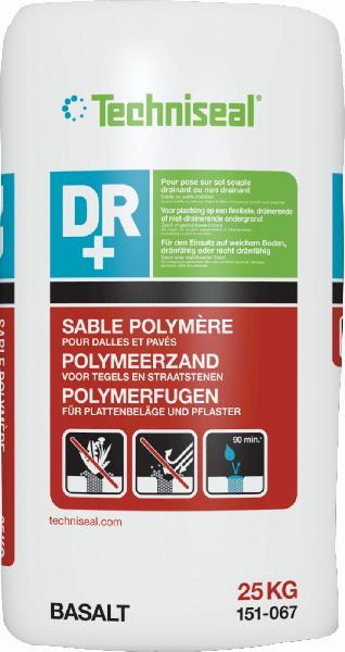 Joint pavés ou dalles sable polymère DR+ basalt sac 25kg