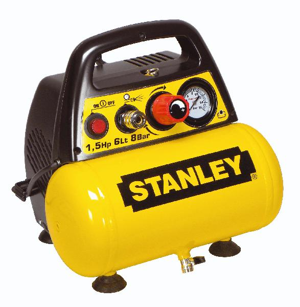Compresseur STANLEY 1,5HP 8bar 6L