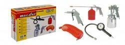Pistolet de peinture kit 5 accessoires