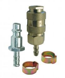 Montage rapide pour tuyau Ø8 kit