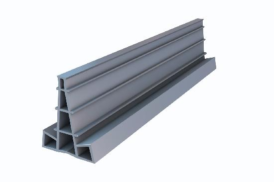 Régle joint de dilatation PVC H.70 2,50m