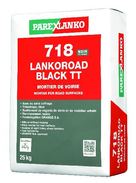 Mortier de voirie 718 LANKOROAD TT black 25Kg