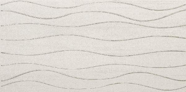 Faïence décor SILK wave white 30x60,4cm