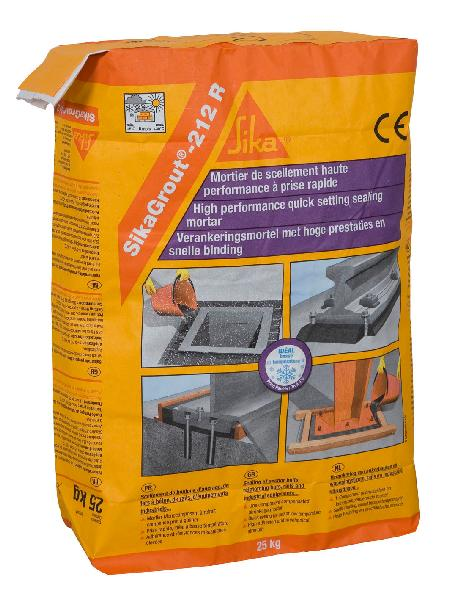 mortier scellement sikagrout 212 r sac 25kg. Black Bedroom Furniture Sets. Home Design Ideas