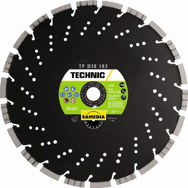 Disque diamant Ø350mm TP MIX 102