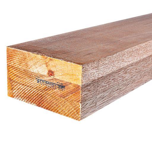 Carrelet 3 plis aboutés bintagore/meranti KKK 72x120mm 5,90m