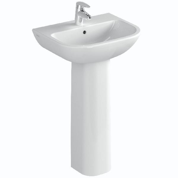 Colonne lavabo S20 blanc 50cm NF