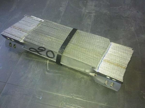 Tendeur de coffrage 2 trous 20cm paquet 100