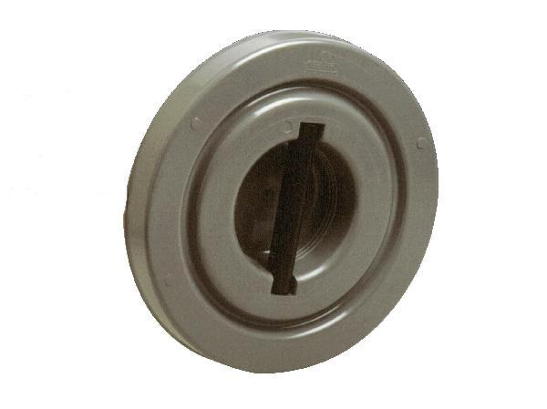 Couvercle PVC pour tabouret de branchement Ø250 femelle