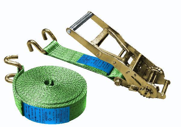 Sangle arrimage ergonomique crochet doigts écartés 6T 9m