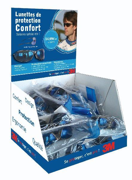 Présentoir à lunettes avec 1 paire de lunette offerte MARCUS box 20