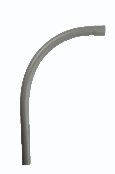 Courbe PVC pour gaine LST Ø45mm mâle-femelle 90° rayon 360