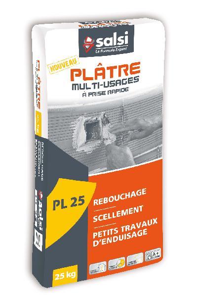 Plâtre multifonction manuel PL25 sac 25kg