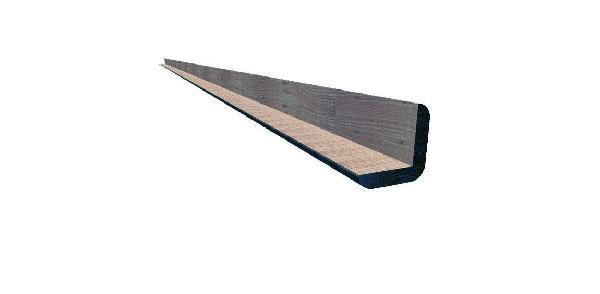 Cornière d'angle douglas non traité 45x045mm 4,00m paquet 4