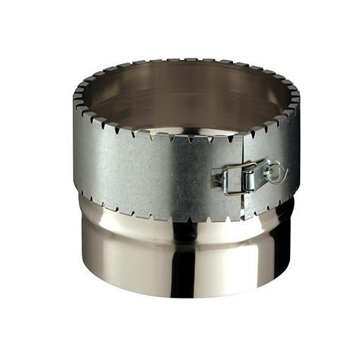 Raccord/Té flexible inox Ø0/155mm RF155