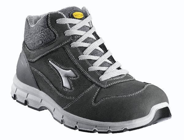 Chaussures de sécurité hautes HI RUN gris/granit S3 SRC T.45