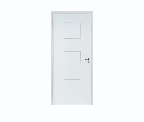 bloc porte alv olaire rec pr peint klassic 204x93 gp n olys 90x49. Black Bedroom Furniture Sets. Home Design Ideas