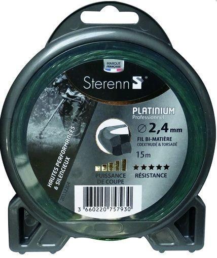 fil nylon platinium 2.4mm L.15m