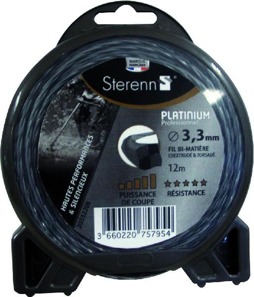 fil nylon platinium 3mm L.15m