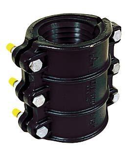 Manchon réparation fonte 2 P 200mm Ø095-108mm